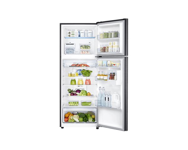 in-top-mount-freezer-rt42r555ebstl-rt42r555ebs-tl-frontopenwithfoodblack-224903553